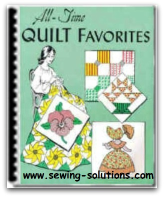 How to make quilts many patterns in this ebook