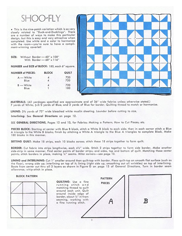 Early American Quilt Patterns Included Templates And