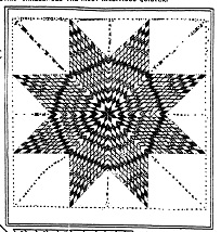 Lone Star Quilt Pattern for a Stunning Border