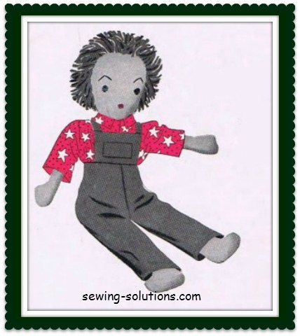 Free Rag Doll Pattern