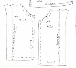 graphic relating to Free Printable 18 Inch Doll Clothes Patterns titled Barbie doll garments, coat sewing practices