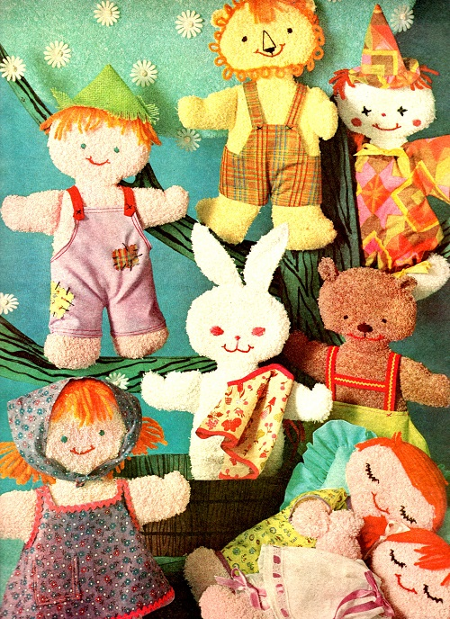 Free patterns for doll clothes and charity dolls
