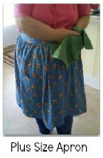Easy sew apron pattern