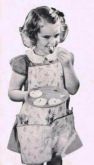 Childs free apron pattern