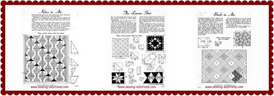 hand-made patchwork quilty Image