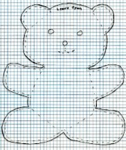 photograph about Teddy Bear Sewing Pattern Free Printable named Free of charge teddy undertake sewing habits,