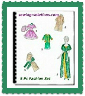Printable sew todays fashions for 18-inch doll
