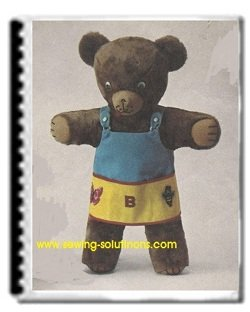 photograph relating to Teddy Bear Sewing Pattern Free Printable named Teddy undergo sewing habit, deliver your private