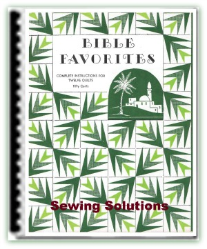 Ebook full of Bible quilts