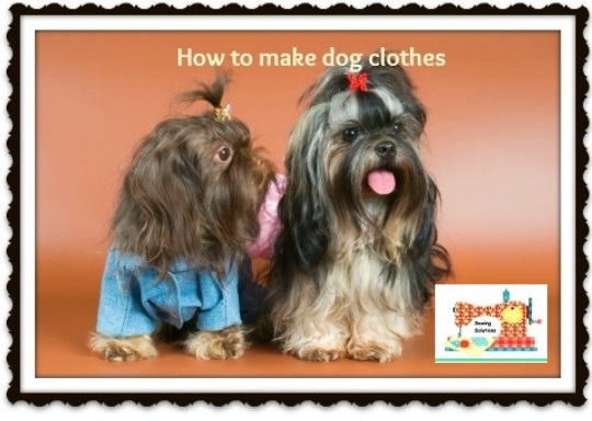 How to make dog clothes instructions