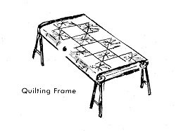 build a quilt frame instructions