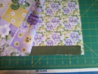 Pillow case pattern step 2