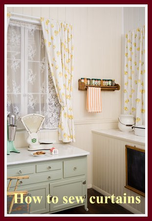 sewing patterns for curtains