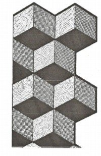 Tumbling block quilt pattern free with quilt instructions : tumbling blocks quilt pattern template - Adamdwight.com